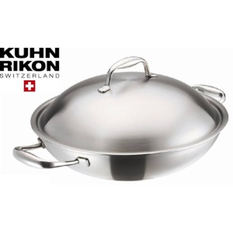 Kuhn Rikon High Dome Wok 32 cm für Induktion